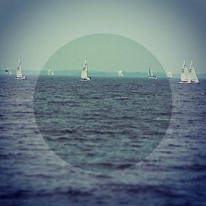 photographie - voiliers sur le lac Saint-Louis