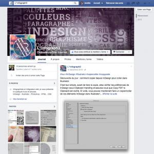 Ma page Facebook - L'1nfograph3