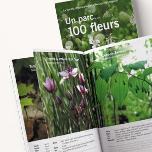 """SHÉLI - livre """"Un parc, 100 fleurs"""""""