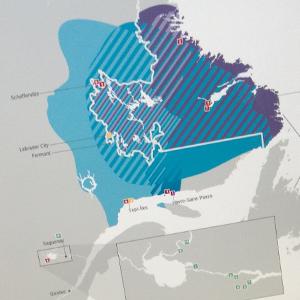 Rio Tinto - carte géographique