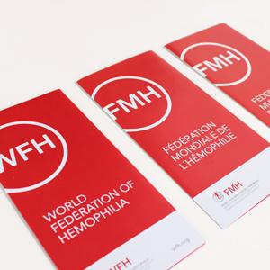 Fédération mondiale de l'hémophilie - dépliants